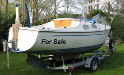 Sailboat for sale  - www.BillOfSale.biz