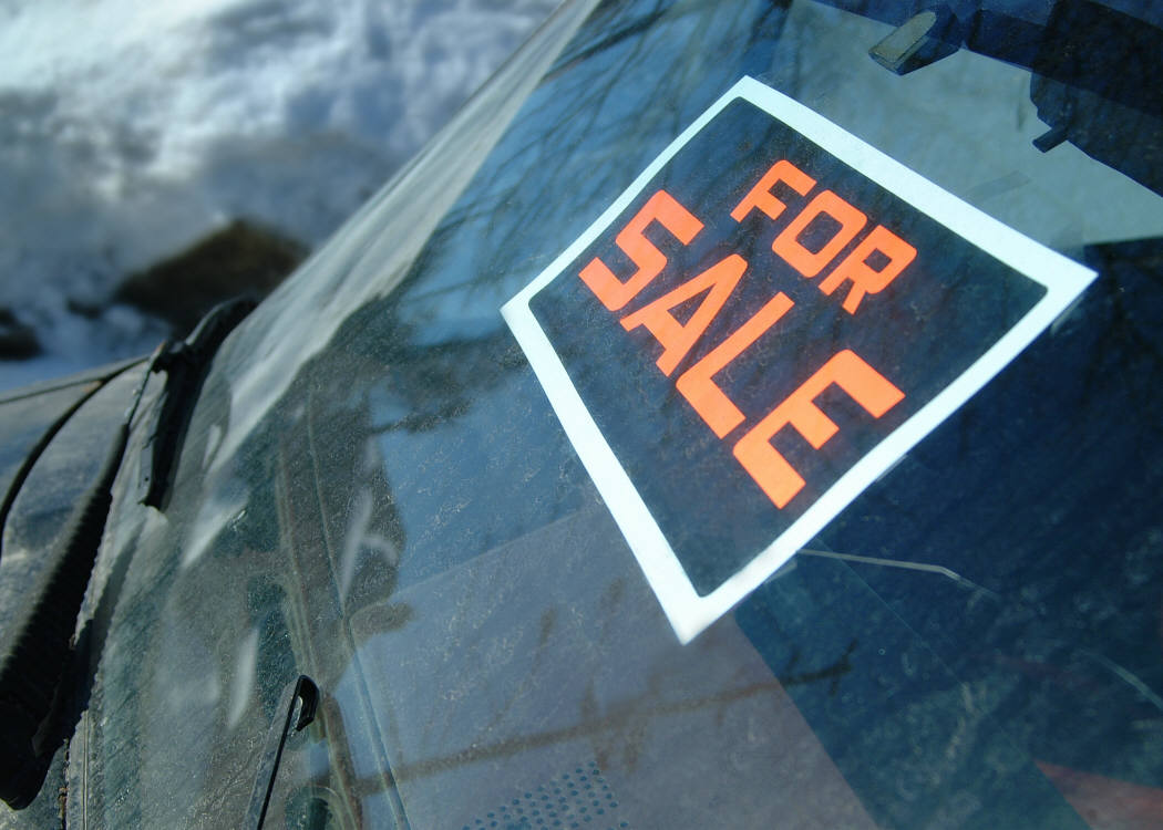 Sell Your Car  Car For Sale Signs Printable